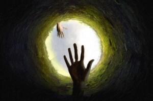 hole-deep