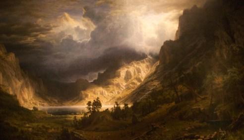 WLA_brooklynmuseum_Albert_Bierstadt_A_Storm_in_the_Rocky_Mountains_1866
