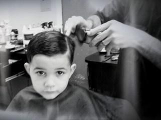 Titus haircut
