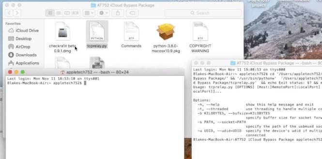 iCloud Bypass Python