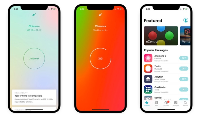 Chimera: A Free Jailbreak for iPhone Xs / Xr and iPad Pro