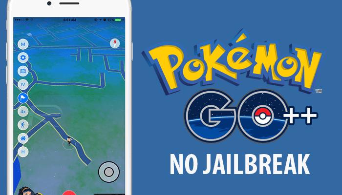 Pokemon GO Tap to Walk - iOS NO Jailbreak