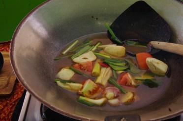 Cooking Tom Yum