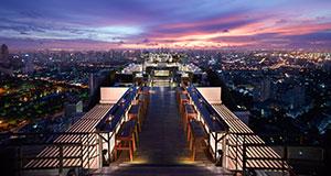 Vertigo and Moon Bar at Banyan Tree Hotel