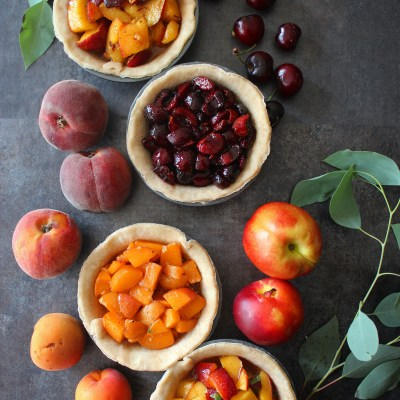 Mini Stone Fruit Pies