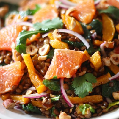 Winter Lentil Salad