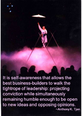 power of leadership self-awareness