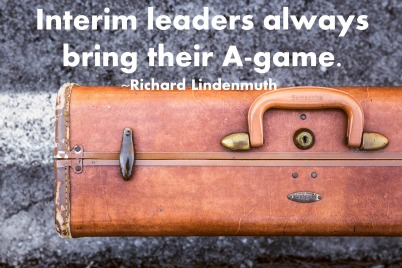 4 ways to be a successful interim leader