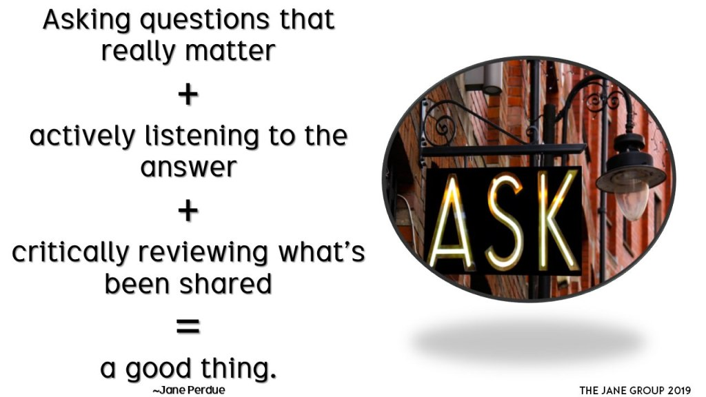 Asking questions is a superpower
