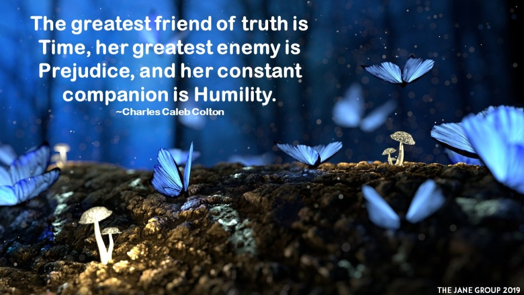 humility and truth
