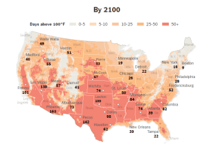 NYT_Heat Map of US - 2100_8-20-16
