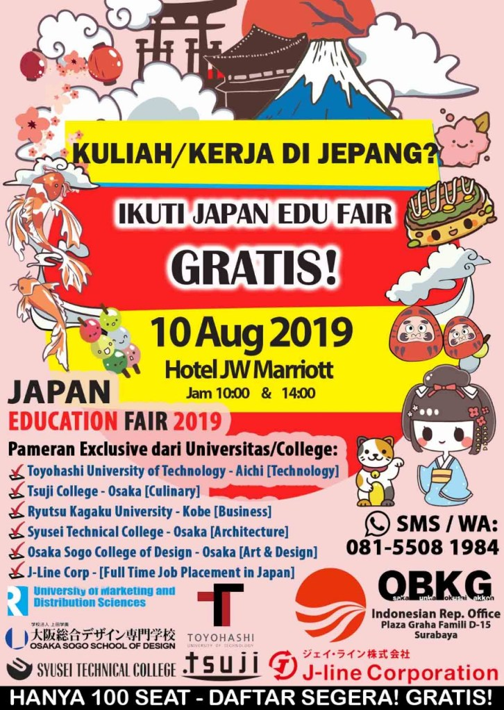 Japan education fair 2019