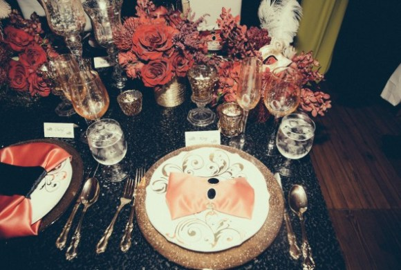 place setting-tina knowles-60th birthday party new orleans-the jasmine brand