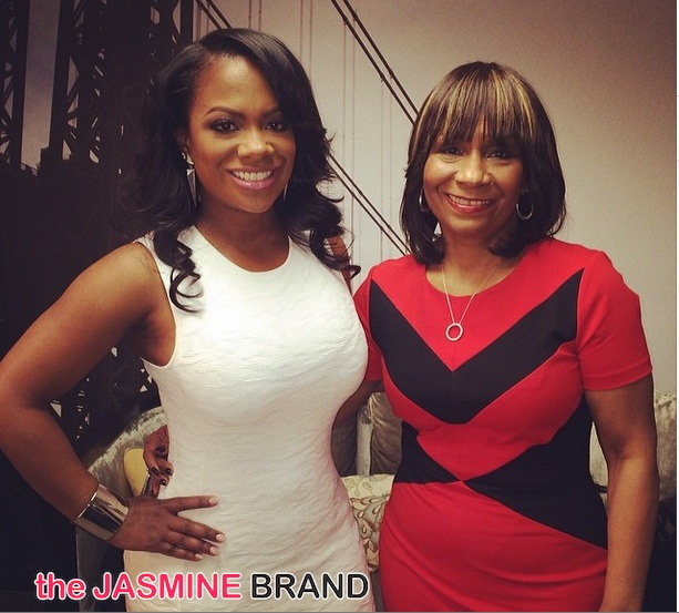 Kandi Burruss And Riley Burruss