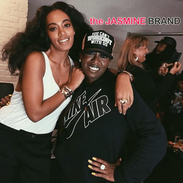 Solange Knowles-Missy Elliott-Alexander Wang show-the jasmine brand