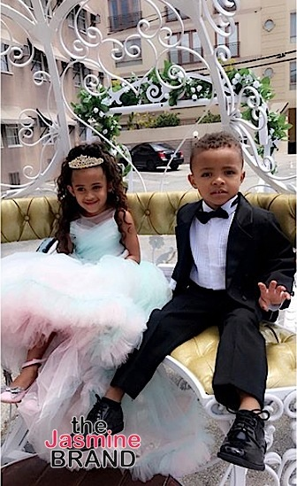 Chris Brown S Daughter Royalty Celebrates Fourth