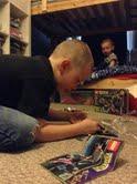building TMNT Lego