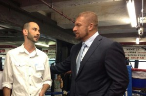 With Triple H