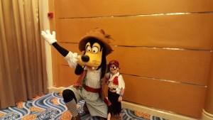 It wouldn't have been a success without meeting Goofy