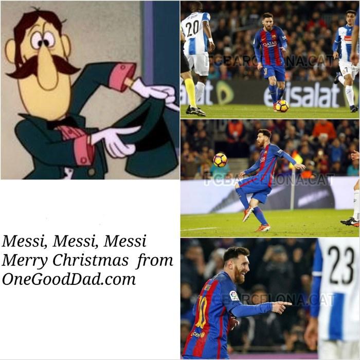 Messi Christmas