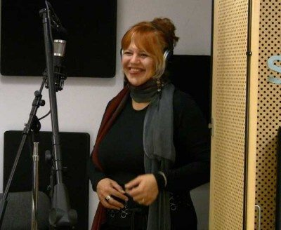 Linda Solotaire live in the studio