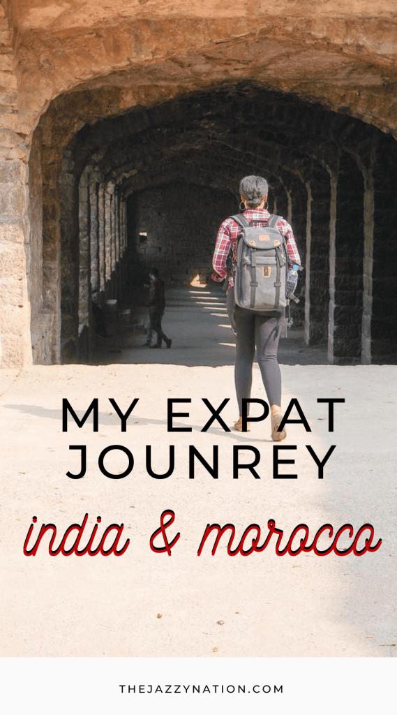 MY Expat Journey Pinterest Pin