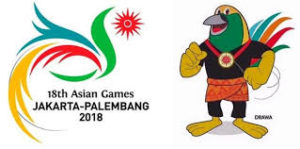 asian games, logo asian games 2018,