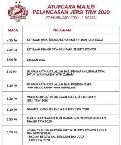 Live streaming Perasmian Jersi dan Pemain Kelantan 2020