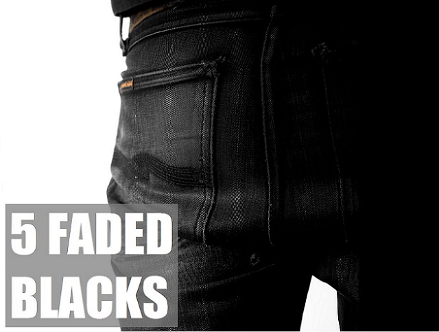 Faded Black Jeans Main