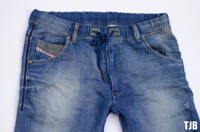 Stretch Denim Jeans Straight Legs Blue Size 10-20