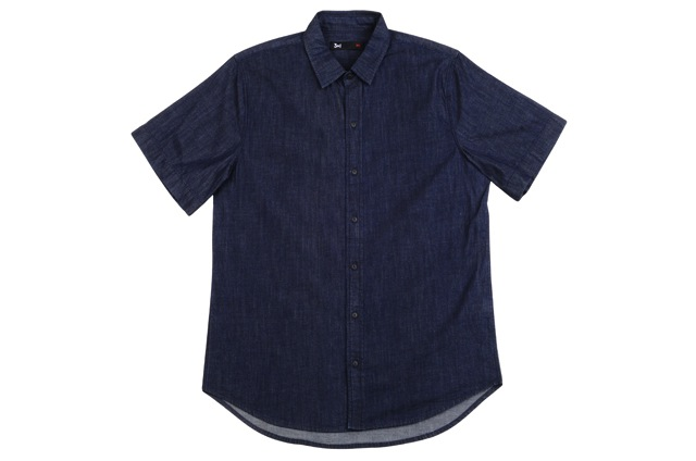 3x1-Men's-Selvedge-Short-Sleeve-Shirt-in-Avenue-C---$245