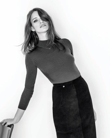 Alexa Chung for AG Fall '15 7