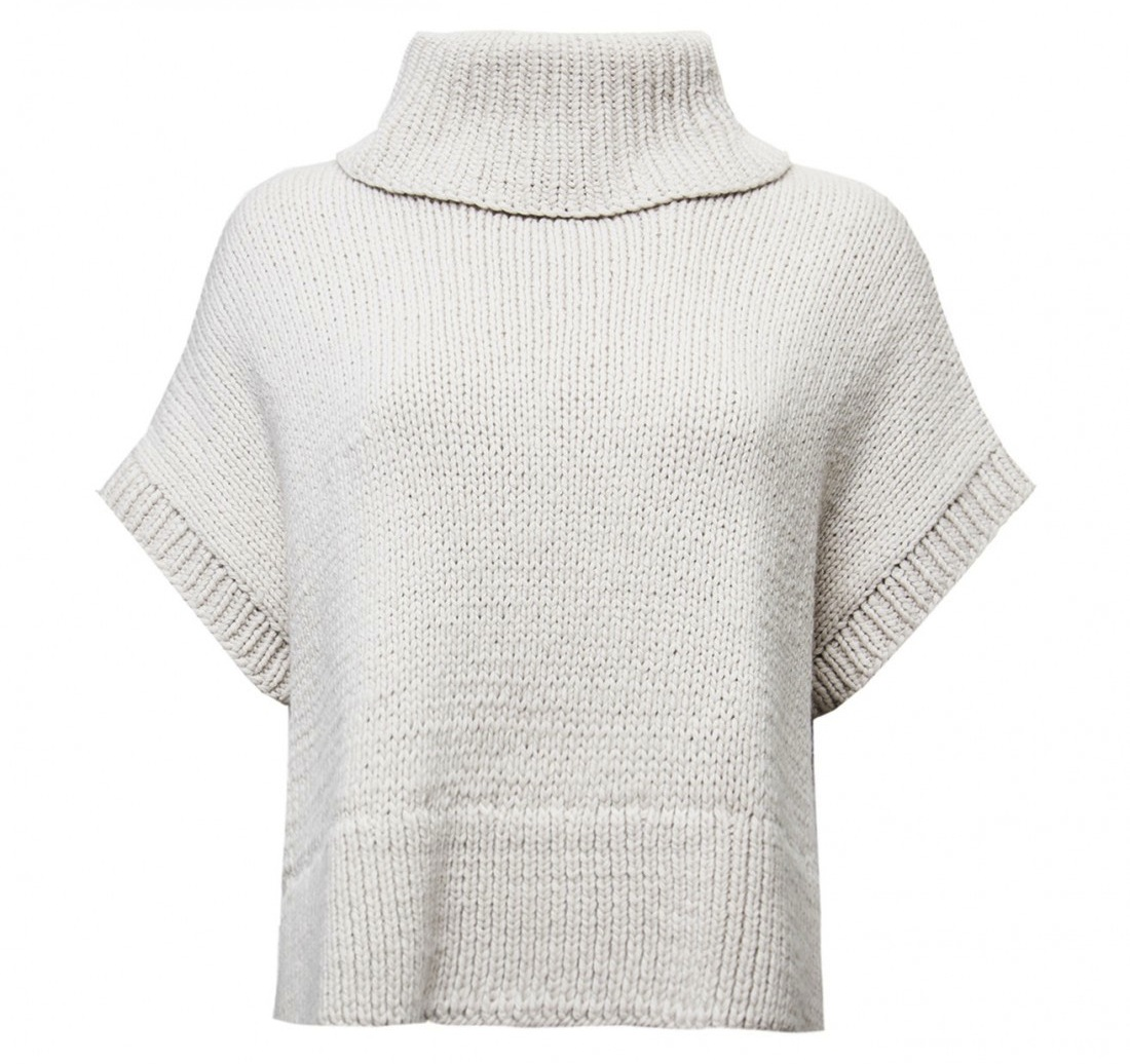 jeffrey dood crop turtleneck sweater