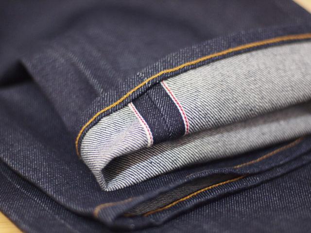 Selvedge denim fabric
