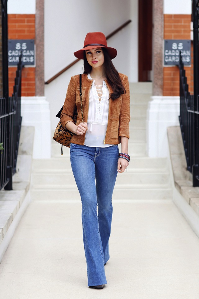 Emma-Miller-model-and-fashion-blogger-bootcut-jeans