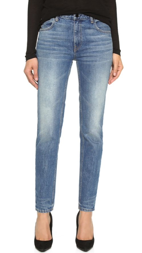Denim x Alexander Wang 002 Relaxed Fit Skinny Jeans