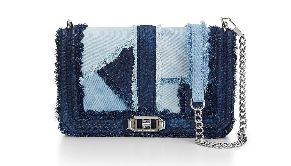 rebecca minkoff denim love cross body bag