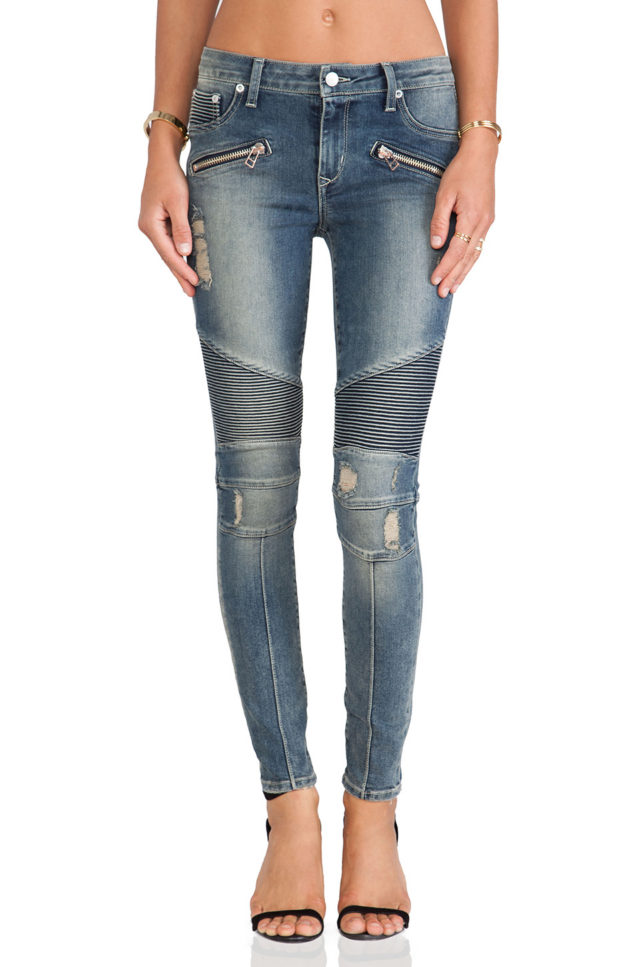 lovers + friends moto jeans