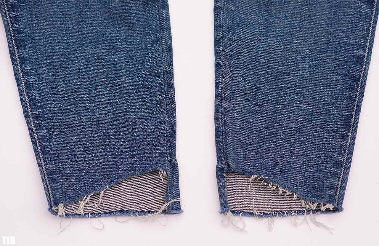 MOTHER The Stunner Zip Ankle Step Fray Jeans In Good Girls Do Review 6
