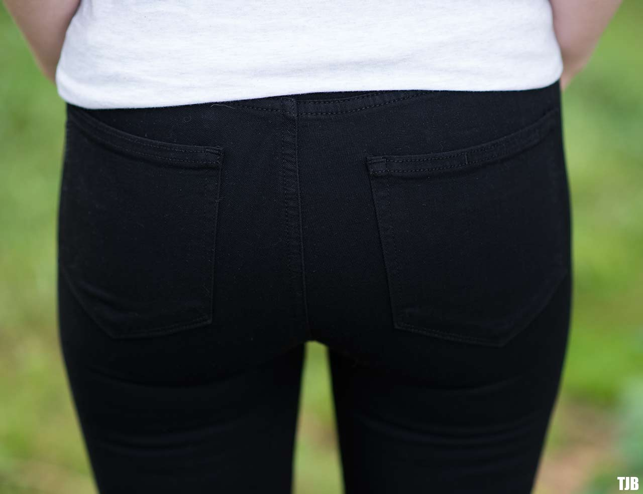 PAIGE High Rise Edgemont Jeans in Black Shadow Review 8