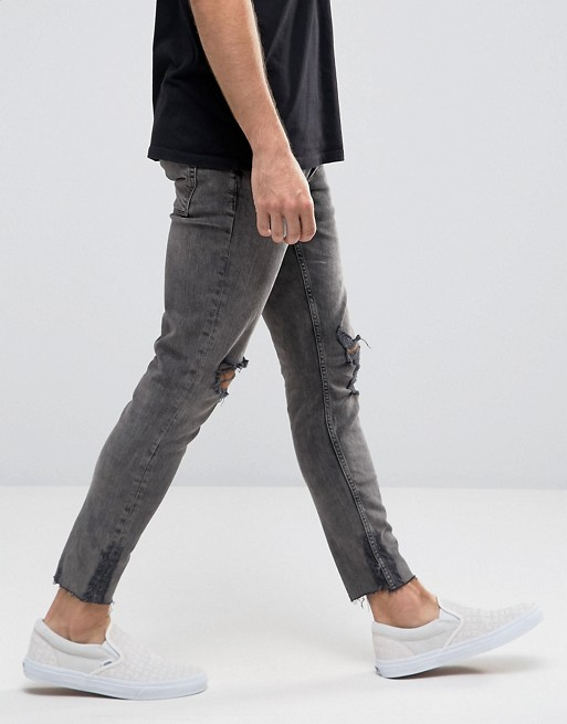 The Raw Frayed Hem Jeans Trend For Men The Jeans Blog