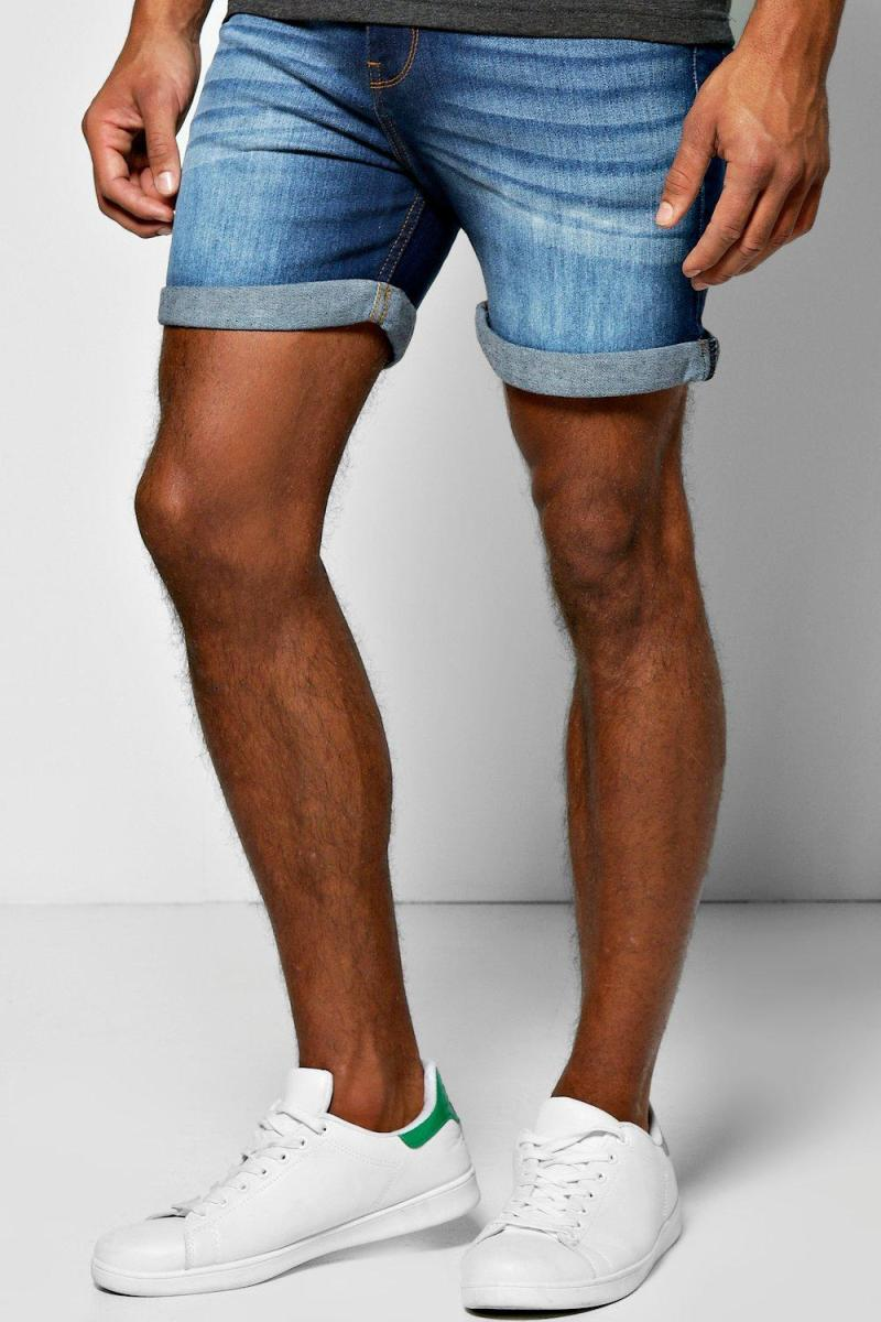 12 Short Skinny Denim Shorts For Men | The Jeans Blog