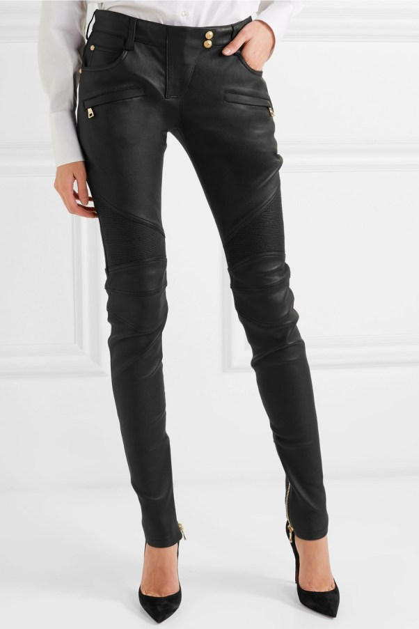 2a503c50dac 10 Designer Black Leather Pants For 2019