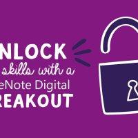 Unlock New Skills with a OneNote Digital Breakout.