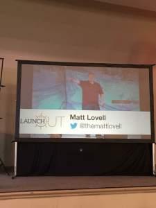 Matt Lovell Launch Out Conference 2015