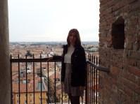 Me overlooking Verona