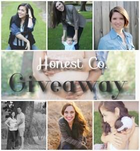 Honest Co. Giveaway