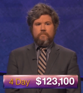 Austin Rogers, winner of the September 29, 2017 episode of Jeopardy!