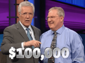 David Clemmons, champion of the 2017 Teachers Tournament and winner of the September 8, 2017 episode of Jeopardy!