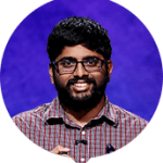 Pranjal Vachaspati on the 2017 Jeopardy! Tournament of Champions